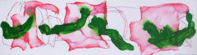 axel höptner ohne titel 6.7.2017 mischtechnik auf papier 20x70 cm copyright axel höptner und vg bildkunst (2)