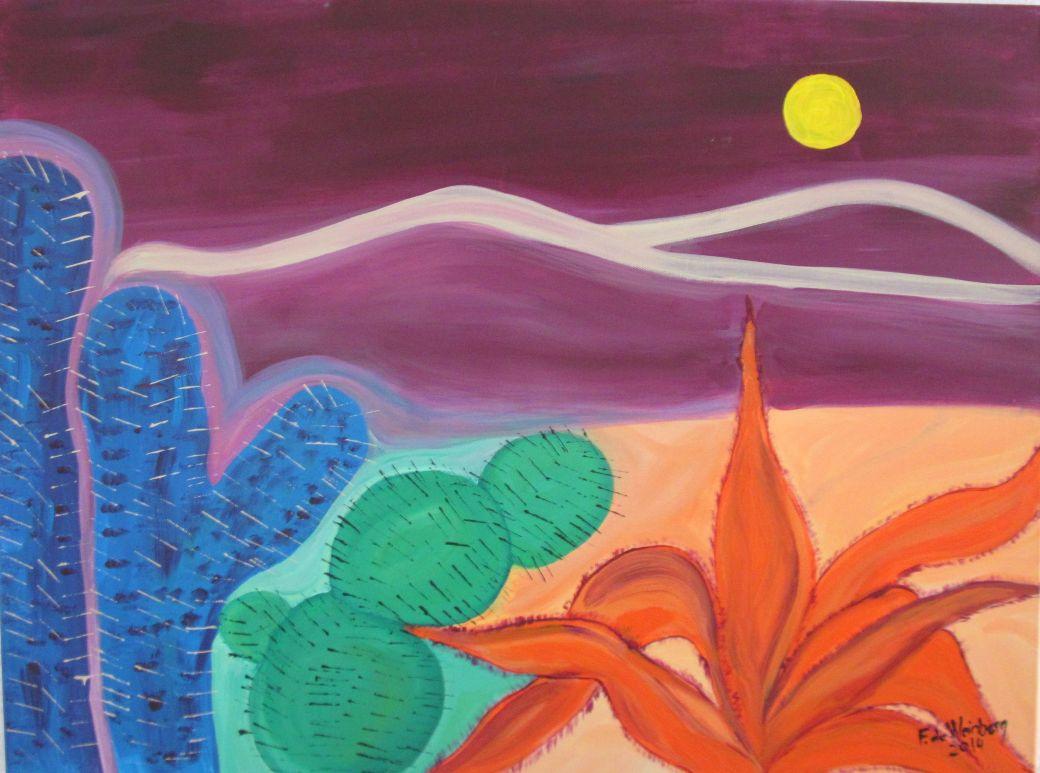 Fanny de Weinberg Ilusion del desierto