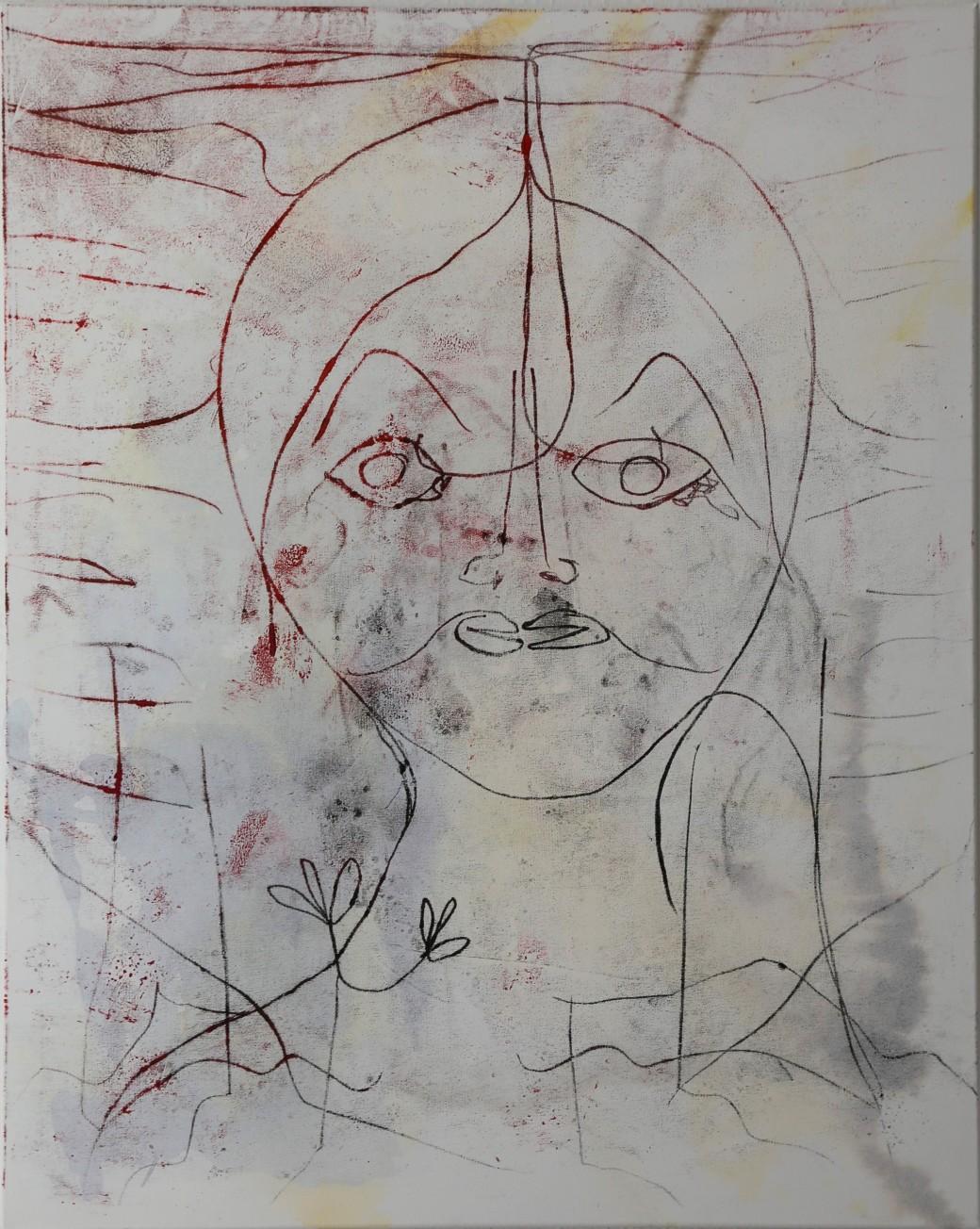 ReginaMariaBußmann,ohneTitel,MischtechnikaufLeinwand,80x100cm,September2019