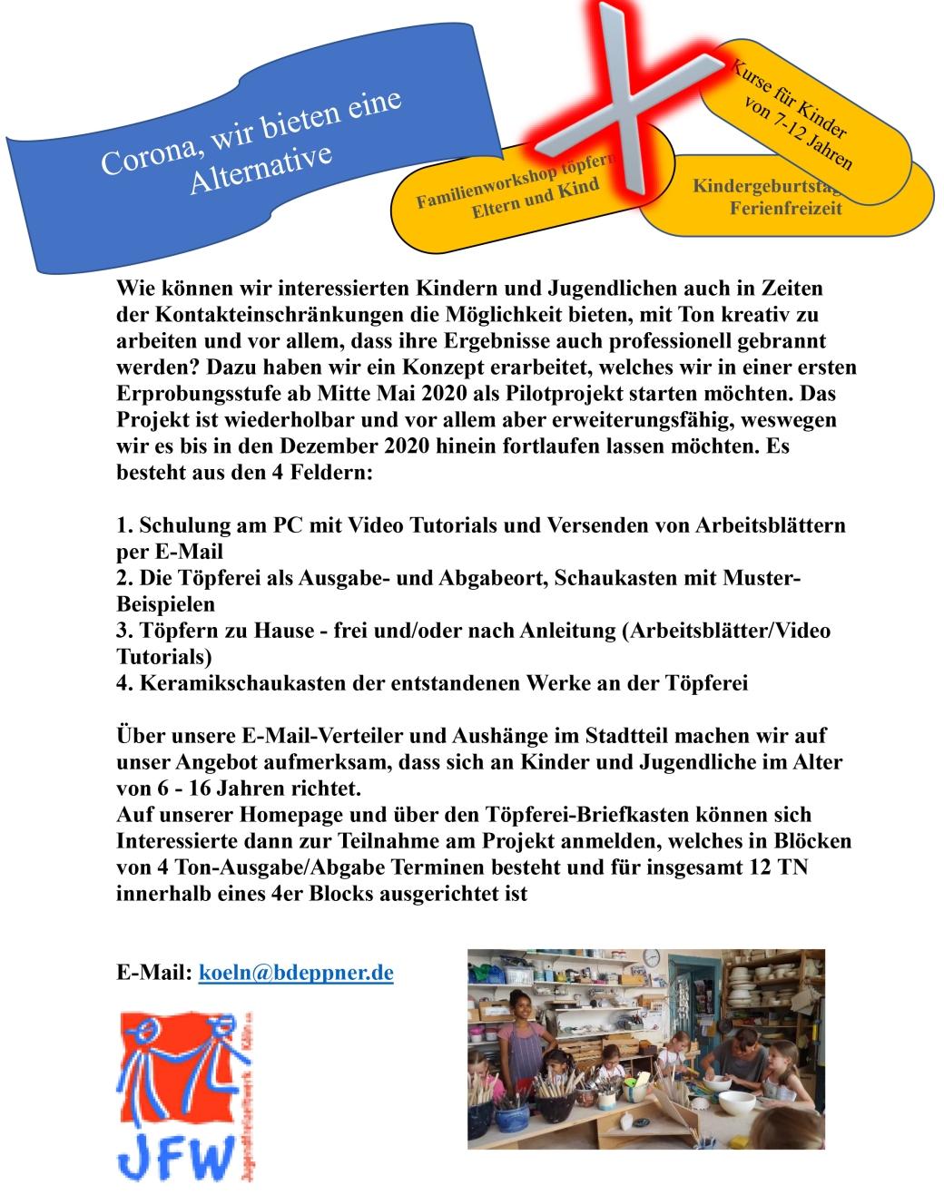 Corona Kinder Projekt